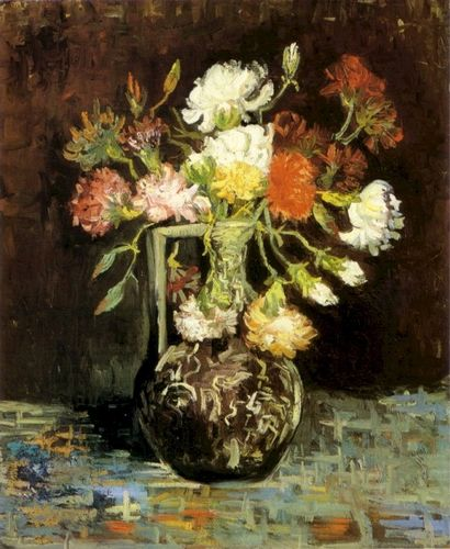 Van gogh's Carnations in a Vase
