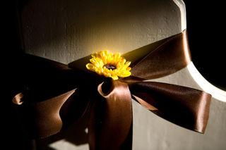Single Flower Pew Markers