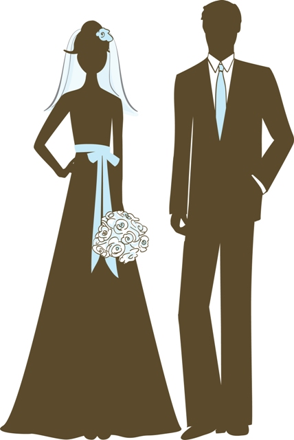 Bride and Groom Illustration--web