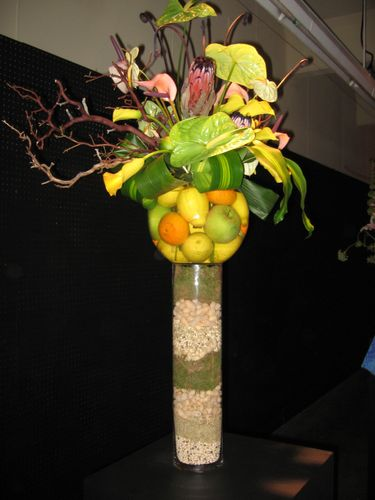 arrangement for the lawn and garden show