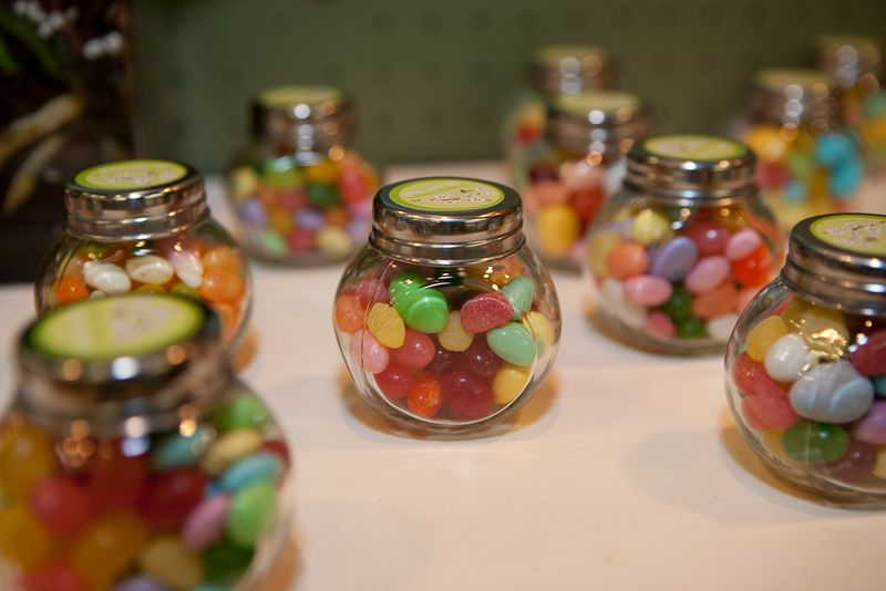 Candy jar favors