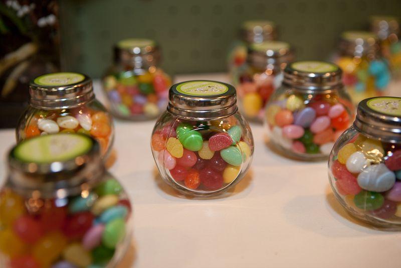 Candy jar favors