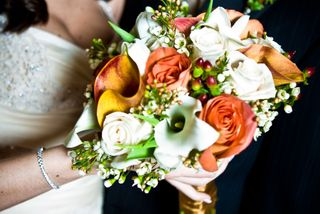 vintage glam bouquet