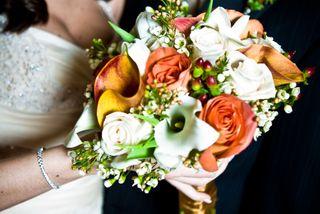 vintage glam bouquet