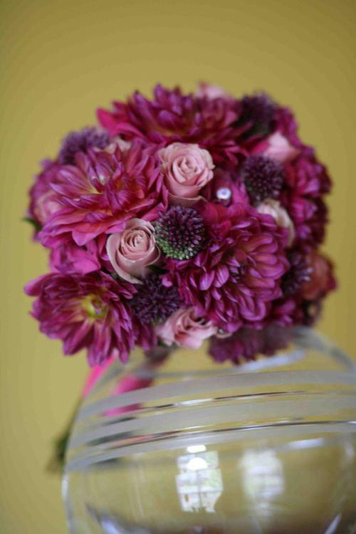 Front View of a lively bouquet