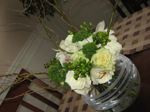 Centerpieces amp Event Design Ming Fern Curly Willow And